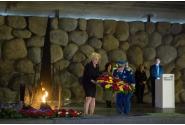Vizita la Memorialul Yad Vashem a prim-ministrului Viorica Dăncilă