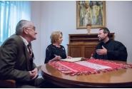 Întâlnire cu studenții români de la universitățile pontificale