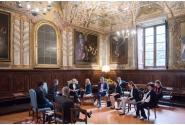 Vizita la sediul Comunității Sant'Egidio