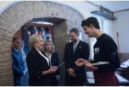 """Vizita la """"Trattoria de Gli Amici"""", proiect al Comunității Sant'Egidio"""