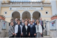 Vizita la Accademia di Romania din Roma
