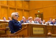 Discursul susținut de premierul Viorica Dăncilă la ședința comună a Camerei Deputaților și Senatului