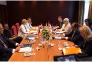 Întrevederea miniștrilor transporturilor din România, Serbia, Bulgaria și Grecia