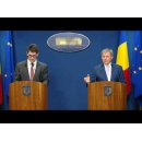 Prime Minister Dacian Ciolos held a joint press conference with the representatives of the Coalition for Romania's Development