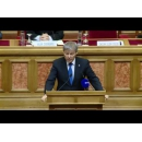 Prime Minister Dacian Ciolos attended the Festive Sitting of the Constitutional Court occasioned by the 150th anniversary of  the 1866 Constitution and the 25th anniversary of the 1991 Constitution
