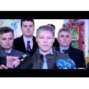 Declarațiile sustinute de premierului Dacian Cioloș după exprimarea dreptului de vot, la Zalău