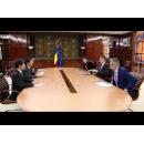 Întâlnirea premierului Sorin Grindeanu cu ambasadorul Japoniei în România, Kisaburo Ishii