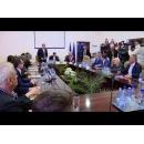 Visite du Premier ministre Sorin Grindeanu dans le département de Bistrița-Năsăud