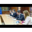 Entretien du Premier ministre avec les représentants de l`ANAF, du MFP et de la Commission nationale de prévision