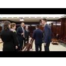 Întâlnirea premierului Sorin Grindeanu cu reprezentanți ai Asociației Române a Băncilor