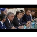 Întâlnirea de lucru a premierului Sorin Grindeanu cu marii investitori români