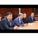 Le Premier ministre Sorin Grindeanu a eu une entrevue avec les représentants de la compagnie s KazMunayGas International