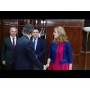 Întâlnirea premierului Sorin Grindeanu cu Ekaterina Spasova Gheceva Zaharieva, viceprim-ministru pentru reforma justiției, ministrul afacerilor externe din Bulgaria