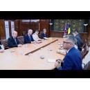 Întâlnirea premierului Sorin Grindeanu cu ministrul britanic al Apărării, Michael Fallon