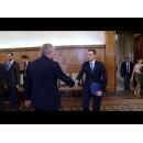 Întrevederea premierului Sorin Grindeanu cu președintele Comitetului Economiei germane pentru Europa de Est, Wolfgang Büchele