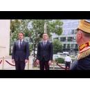 Premierul Sorin Grindeanu l-a primit, la Palatul Victoria, pe omologul său luxemburghez, Xavier Bettel