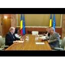 Entrevue du Premier ministre Mihai Tudose avec l`ambassadeur de la Grande Bretagne en Roumanie, M.  Paul Brummell