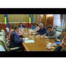 Entrevue du Premier ministre  Mihai Tudose avec  les représentants de l`ambassade du Royaume d`Espagne en Roumanie