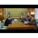 Entrevue du Premier ministre  Mihai Tudose avec  l`ambassadeur de la République Populaire de Chine en Roumanie, M.  Xu Feihong