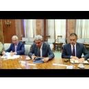 Le Premier ministre Mihai Tudosea eu aujourd`hui  une entrevue avec les représentants de la compagnie  Bell Helicopter