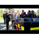 PM Mihai Tudose attends the Romanian Firefighters' Day ceremony
