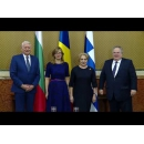 PM Viorica Dancila meets with the Ministers of Foreign Affairs of Bulgaria and Greece, in the presence of the Head of the Romanian diplomacy