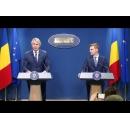 Declarații de presă susținute de ministrul Finanțelor, Eugen Teodorovici, și de purtătorul de cuvânt al Executivului, Nelu Barbu, după ședința de guvern