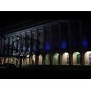 Guvernul României, iluminat în albastru de Ziua Internaţională a Conştientizării Autismului