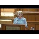 """Participarea premierului Viorica Dăncilă la """"Ora Prim-ministrului"""" în plenul Camerei Deputaților"""
