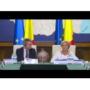 Prime Minister Viorica Dancila met with the Secretary - General of the Council of the European Union, Jeppe Tranholm Mikkelsen, with participation of the Members of the Romanian Cabinet
