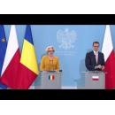 Ceremonia de semnare a Acordului bilateral și declarații comune de presă ale prim-miniștrilor României şi Republicii Polone
