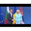 Prime Minister Viorica Dancila attends the high-level quadrilateral meeting of Romania, Bulgaria, Serbia and Greece, in Thessaloniki