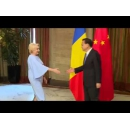 Prime Minister Viorica Dancila meets with the Premier of the State Council of the People's Republic of China Li Keqiang