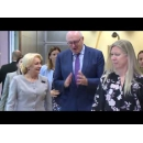 Prime Minister Viorica Dancila is paying a working visit to Brussels