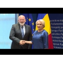 Prime Minister Viorica Dancila meets with the First Vice-President of the European Commission Frans Timmermans