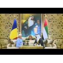 PM Viorica Dăncilă meets with Sheikh Hamdan bin Zayed Al Nahyan — Emir's Representative in the Western Region of Abu Dhabi