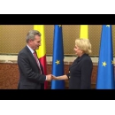 Prime Minister Viorica Dăncilă met with the European Commissioner for Budget & Human Resources Günther Oettinger