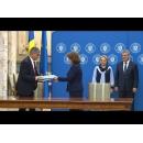 """Participarea premierului Viorica Dăncilă la ceremonia de semnare a proiectului """"Reducerea eroziunii costiere Faza a II – a (2014-2020)"""", finanțat prin POIM"""