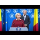 Prime Minister Viorica Dăncilă attends the signing ceremony of some financing agreements granted under the state aid scheme 807/2014 to stimulate investments with major impact on the economy