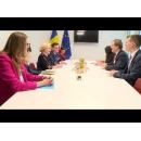 Întrevederea prim-ministrului României, Viorica Dăncilă, cu directorul executiv al Comitetului American Evreiesc