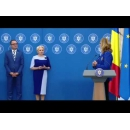 Ceremonia de premiere a sportivilor și antrenorilor care au obținut performanțe la Campionatele Europene de canotaj de la Lucerna, Elveția