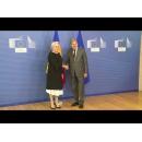Întrevederea prim-ministrului României, Viorica Dăncilă, cu comisarul european pentru vecinătate și negocieri privind extinderea, Johannes Hahn