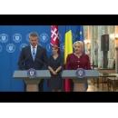 Prime Minister Viorica Dăncilă meets with her Slovak counterpart Peter Pellegrini