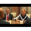 Prime Minister Viorica Dancila meets with a delegation of the Liberty House Group