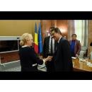 Întrevederea premierului Viorica Dăncilă cu președintele Curții Europene a Drepturilor Omului