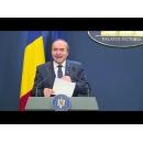 Briefing de presă susținut de ministrul Justiției, Tudorel Toader, și purtătorul de cuvânt al Guvernului, Nelu Barbu