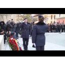 Participarea premierului Viorica Dăncilă la ceremonia de depunere a unei coroane de flori la Statuia ecvestra a lui Mihai Viteazul