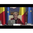 Prime Minister Viorica Dancila's statements at the start of the Cabinet meeting