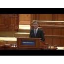 Discursul susţinut de premierul Sorin Mihai Grindeanu la învestirea în Parlament