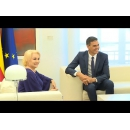 Prime Minister Viorica Dăncilă meets with the President of the Government of Spain Pedro Sánchez